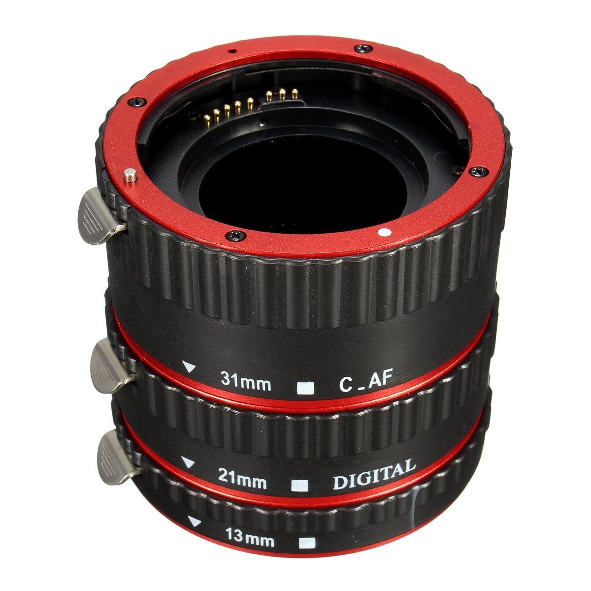 Metal Mount Auto AF Macro Extension Tube/Ring for Kenko for Canon EF-S Len T5i T4i T3i T2i 6D 7D 60D 70D 100D 550D 600D<br><br>Aliexpress