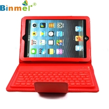 Binmer Mecall Wireless Bluetooth Keyboard Stand Leather Case Cover For Apple for ipad mini