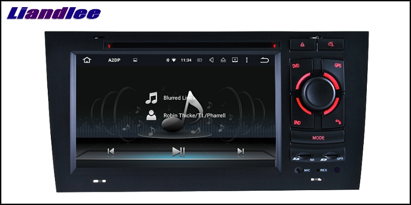 Liandlee Car Multimedia Player NAVI For Audi A6 C5 4B 1997~2004 Car Touch Screen System Radio TV DVD Stereo GPS Navigation 14