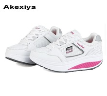 Akexiya 2017 Summer women's sport running shoes music rhythm women's sneakers breathable mesh outdoor athletic shoe light shoe