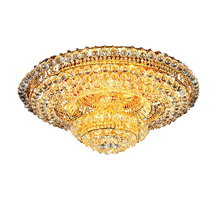 hot selling lustres contemporary chandeliers crystal lamp of living room lights gold/chrome chandelier(China)