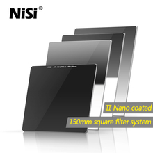 Nisi Glass Nano Soft Hard Reverse ND filter 100mm 150mm 100*100mm 100*150mm Neutral Density square filter ND1000 ND64 GND8 GND16(China)