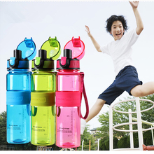 HOT BPA Free Leak Proof Sports Bicycle Water Bottle High Quality Tour Hiking Portable My Favorite Bottles Drinkware Best Gift(China)