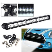 12v/24v 36W Led fog light bar Car driving spotlight Offroad truck Auxiliary headlights 4x4 ATV UTV Boat Crane Led work light bar