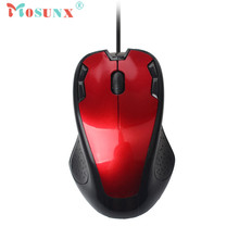 Mosunx advanced mouse 1800 DPI USB Wired  Gaming Mouse Luxury Wired Optical Gaming Mice Mouse For PC Laptop  1PC