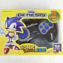 For SEGA Genesis Pad console controller console with built in 75 Games Sega games Mega Drive Games Free shipping