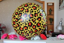 Cheetah Leopard Spots Balloon Mylar Foil Safari Jungle Animal Wild birthday Hen night party decoration kits(China)