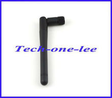 Free shipping 1 piece WIFI Antenna 2.4GHz 2-3dBi SMA plug male Omni AERIAL for wireless router/wireless LANs(China)