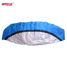 MTELE Brand High Quality Kite Toy Outdoor Fun Sports Dual Line Parafoil Parachute Stunt Soft kite Kid Family Travel Toy