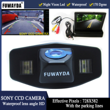 Buy FUWAYDA LED SONY CCD Car Rear View Camera Honda Accord Pilot Civic Odyssey Acura TSX,with 4.3Inch foldable LCD TFT Monitor for $38.69 in AliExpress store