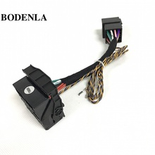 RCD330 Plus RCD510 RCD310 Canbus Adapter ISO To Quadlock Conversion Cable For VW Golf Jetta 5 6 MK5 MK6 Passat B6 Tiguan Vento