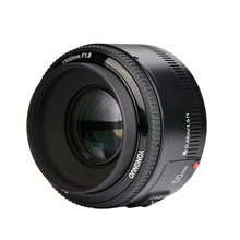 Buy Stock!YONGNUO YN50mm f1.8 YN EF 50mm f/1.8 AF Lens YN50 Aperture Auto Focus Canon EOS DSLR Cameras for $60.94 in AliExpress store