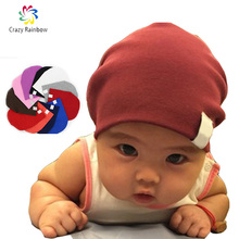 Newborn  Winter New Unisex Baby Boy Girl Kids Toddler Infant colorful Cotton Soft Cute Hats Cap Beanie