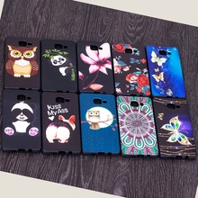 A3 2016 Cover Case For Samsung Galaxy A3 2016 Case Silicone Cute Bamboo Panda Butterfly Flower Case For Samsung A3 2016 Case(China)