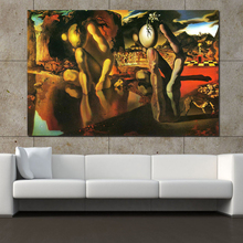 QCART Salvador Dali Oil Painting The Metamorphosis Of Narcissus  Wall Art Painting Wall Painting Picture Modern No Frame