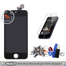 A+++ Quality For Apple iPhone 4S 4 4G 5 5G 5S 6G 6 LCD Display Touch Screen Digitizer Assembly+Tempered Glass+Tools+Full Screws