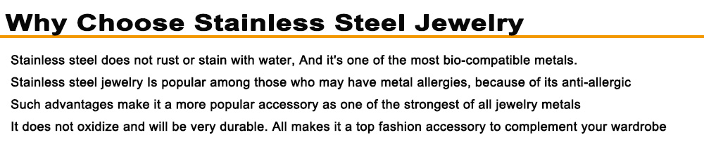 why choose stainless steel jewelry