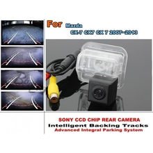 Directive Parking Tracks Lines Rear Camera For Mazda CX-7 CX7 CX 7 2007~2013 imports HD CCD HD Model / Best Model