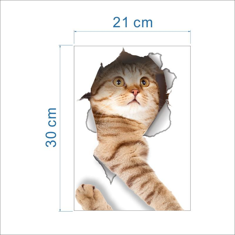 Cat Vivid 3D Smashed Switch Wall Sticker Bathroom Toilet Kicthen Decorative Decals Funny Animals Decor Poster PVC Mural Art Cat Vivid 3D Smashed Switch Wall Sticker Bathroom Toilet Kicthen Decorative Decals Funny Animals Decor Poster PVC Mural Art HTB1tIEtQpXXXXcmXpXXq6xXFXXXO