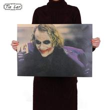 TIE LER The Dark Knight Classic Movie Kraft Poster Bar Coffee Shop Decoration Painting 51.5X36cm(China)