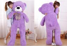 5.9 FOOT TEDDY BEAR STUFFED LIGHT white GIANT JUMBO size:180cm  Christmas Kids Gifts valentine gift