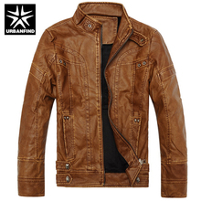 Motorcycle Leather Jackets Men Autumn Winter Leather Clothing Men Leather Jackets Male Business casual Coats Size M-3XL