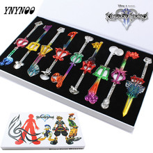YNYNOO Action Figure 9pcs/set Kingdom Hearts II Colorful Keychain Action & toys Figure For Collection Christmas Gifts Toys OT132
