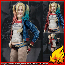"100% Original BANDAI Tamashii Nations S.H.Figuarts (SHF) Action Figure - Harley Quinn from ""Suicide Squad"""