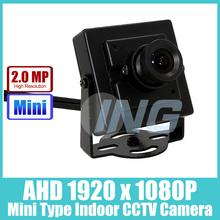 Mini Type FHD 1920 x 1080P 2.0MP Indoor AHD Camera  Metal Security Camera CCTV Cam (Free shipping)