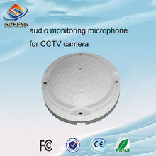 High-fidelity cctv audio pickups smart microphone sound monitoring low noise for ip camera surveillance device