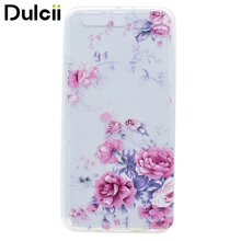 Dulcii for Huawei P 10 Plus TPU Cases Pattern Printing Soft TPU Mobile Casing for Huawei P10 Plus - Blooming Flowers