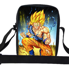 2015 Cool Small Cartoon Shoulder Bag For Boys Dragon Ball Messenger Bag For School For Girls Children Superhero Bag For Kids