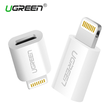 Ugreen Micro USB Adapter to Lightning for iPhone Cable Converter USB Charger&Sync Data Cable for iPhone 6 5 iPad Air iPod iOS 10