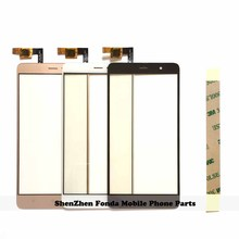 5.5'' Front Glass Panel for Xiaomi Redmi Note 3 Note 3 Touch Screen Panel Sensor Touchscreen Digitizer Replacement tape(China)