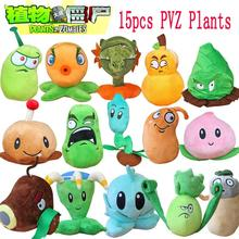1pcs Plants Vs Zombies 2 Stuffed Plush Toys Doll PVZ 15-20cm Plants Soft Plush Toy for Kids Party Toys 15 Styles to Optional