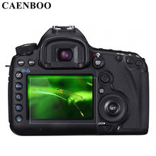 CAENBOO Screen Protector For Canon 6D/60D/600D/7DII/70D/80D/700D/750D/760D/650D Self-Adhesive Tempered Glass LCD Film  Camera