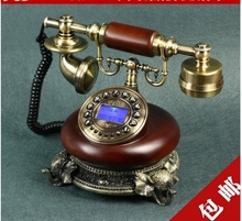 Fashion Elephant European style antique telephones vintage telephone/ Handsfree/ Caller ID(China)