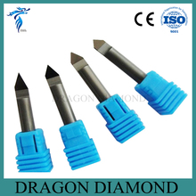 Free Shipping 4pcs 30/45/60/90 Degree 6MM Marble Granite CNC Diamond Engraving Bit Router Bit