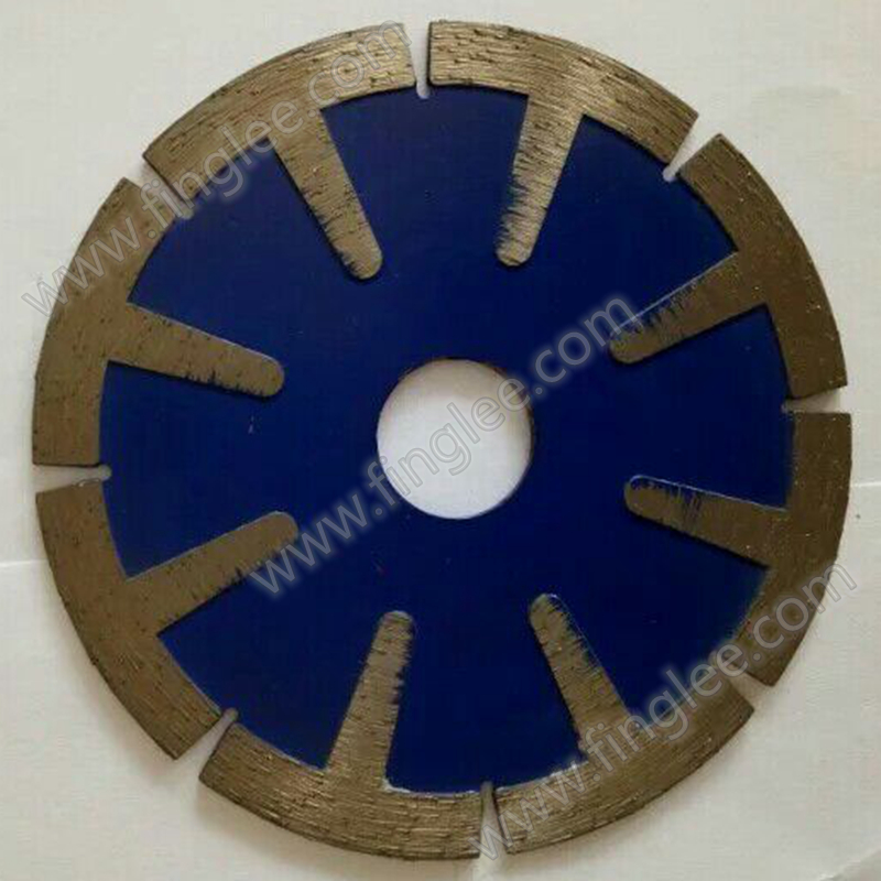 5/125mm T-Segmented Style Diamond Saw Blade for Porcelain,tile,dry cutting aggressive saw marble granite Stone saw blade<br>