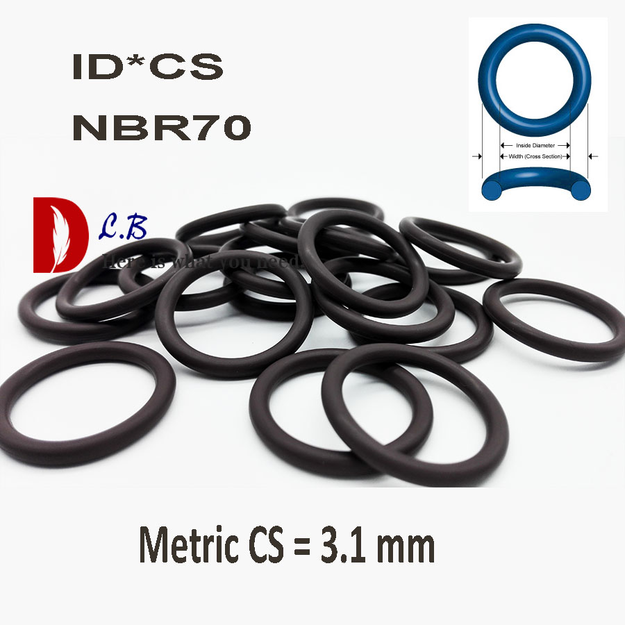 O Ring Nitrile Metric 120mm Inside diameter x 4mm Section