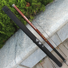 Long section 1 pcs/Lot fishing rod 9/110/11/12/13 m super hard carbon material distance throwing rod telescopic fishing pole(China)