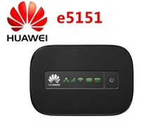 Original Unlocked Huawei e5151 21.6Mbps 3g wifi hotspot mobile wifi router with original retail box