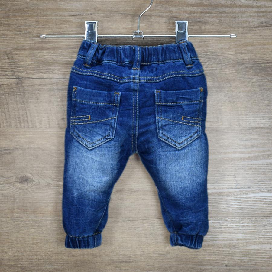 HSIN1609001-2 Newborn Baby Boys Girls Jeans Pants Infant Kids Warm Denim Pants New Born Children Clothes Toddler Leggings Christmas Winter