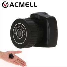 Y2000 Mini Camera Smallest Pocket Camera Mini DV Recorder Mini Micro DVR Video Camera Portable Mini kamera Webcam With Keychain