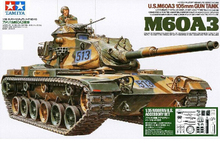 "TAMIYA (35140) 1:35 us M60A3 ""Barton"" main battle tank soldier equipment version model"