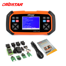 OBDSTAR X300 PRO3 auto key programmer Immobiliser Odometer adjustment EEPROM obd2 Oil reset Battery Matching EPB diagnostic tool