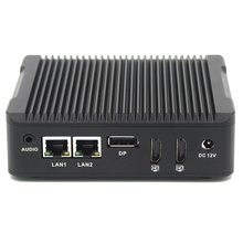 Dual lan nano mini pc Intel celeron n3160 quad core 1.6GHz fanless mini computer full hd 1080p mini pc router 2*HDMI 1*DP port(China)