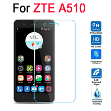 For ZTE Blade A510 Tempered Glass Cover For ZTE Blade A510 A 510 2.5D Premium Screen Protector Glass Anti-glare Guard Film Case