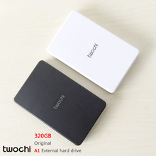 Free shipping New Styles TWOCHI A1 Original 2.5'' External Hard Drive 320GB  Portable HDD Storage Disk Plug and Play On Sale