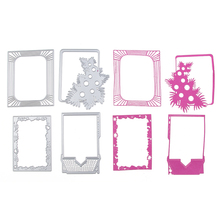 Nice Frame Metal Cutting Dies Stencils for DIY Scrapbooking/photo album Decorative Embossing DIY Paper Cards